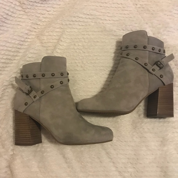 1333a88d0199 BP Shoes - BP Kolo Heeled Studded Bootie - Almost New